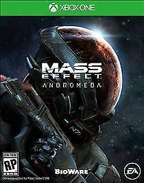 Mass Effect Andromeda (Microsoft Xbox One, 2017) Brand New Sealed  Fast Shipping
