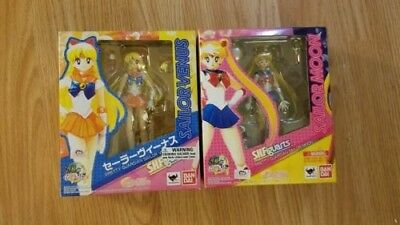 S.H. Figuarts Sailor Moon Lot Moon and Venus