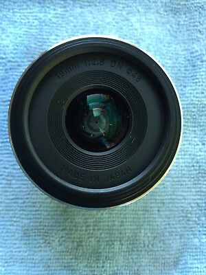 Sigma EX 19mm f/2.8 DN EX Lens For Sony silver SHIPP TO US ONLY
