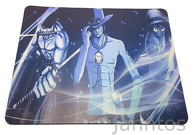 One Piece Mauspad Mouse Pad Lorenor Zorro Feuerfaust Firefist Ace Monkey D Ruffy