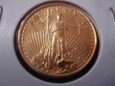 United States 1997 $5 Gold Coin 1/10 Oz  #BX1