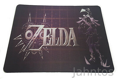 The Legend of Zelda Mauspad Mouse Pad Majoras Mask Horror Kid Skull Kid