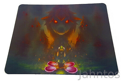 The Legend of Zelda Mauspad Mouse Pad Majoras Mask Link Dekuritual Horror Kid