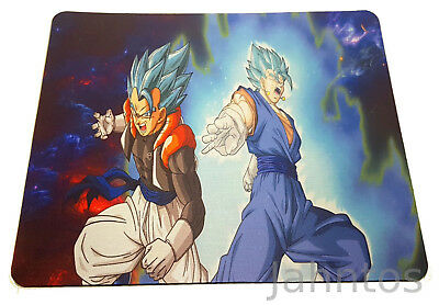 Dragonball Super Mauspad Mouse Pad Gogeta Vegetto Vigeto Super Saiyajin Gott God