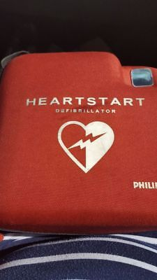 New!  Philips HeartStart OnSite w/Carry Case + Adult Pads + Childrens Pads