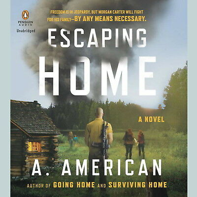 American - Escaping Home: (AUDIO BOOK)