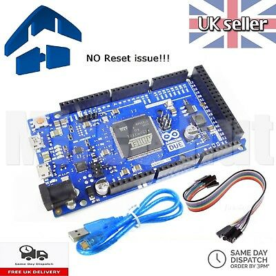 Arduino Due R3 Compatible SAM3X8E 32bit ARM CortexM3 - NO RESET ISSUE -TESTED