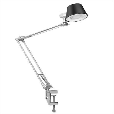 LE Adjustable Swing Arm Lamp Drafting Clamp Table Light Office Studio Architect