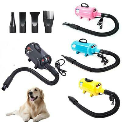 2800W Portable Dog Cat Pet Groomming Blow Hair Dryer Quick Hairdryer 4 Color
