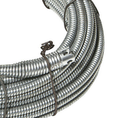 """Spartan Tool 5/16"""" x 35' Inner Core No. 8 Drain Pipe Cleaning Cable 3449004"""