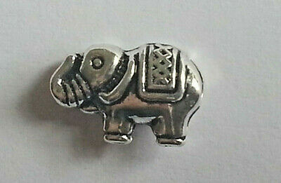 10PC. Tibetan Elephant Silver Colored Beads Metal Spacer Loose Beads Brand New