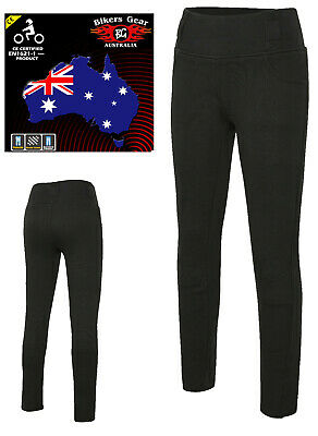BGA Motorcycle Ladies Leggin lined with DuPont™ Kevlar® Fibers, with CE armour
