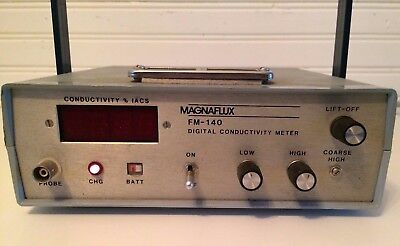 Magnaflux FM-140 Digital Conductivity Meter