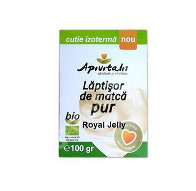 100G Royal Jelly Pure Fresh Organic Raw 100% Natural Unprocessed Highest Quality