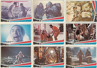 Space 1999 - Complete Trading Card Set (66) - Donruss 1976 - NM
