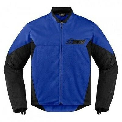 Jacket Icon Konflict Blue- S -2820-3883