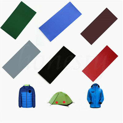 2pcs Repair Tape Kit Self Adhesive Patches For Jacket Tent Canopy Tarp Canvas