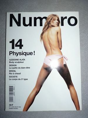 Magazine mode fashion NUMERO french #14 juin 2000 Gisele Bundchen