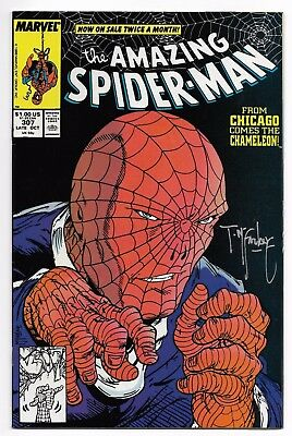 Amazing Spider-Man #307 (Marvel 1988) Signed by Todd McFarlane