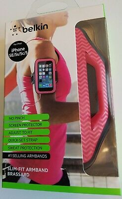Belkin F8W299 Slim Fit Armband iPhone SE 5 5S 5C iPod Touch 5th Generation