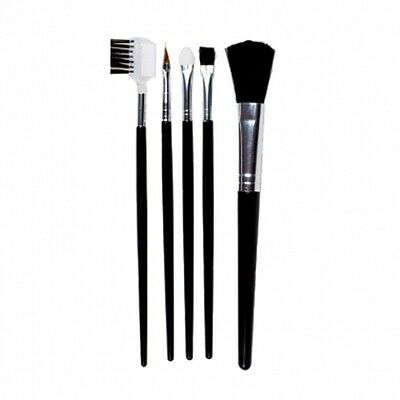 Lot De 5 Pinceaux Maquillage Make Up Fard Teint Eye Liner Sourcil Neuf Acc001