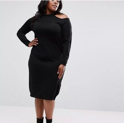 28554625478 NWT - ASOS Curve Knitted Midi Dress -  45.00
