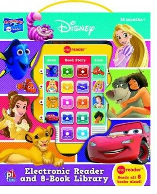 DISNEY FRIENDS ELECTRONIC ME READER ACTIVITY PAD and 8 BOOK LIBRARY