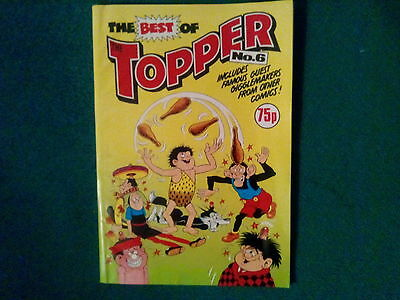 The Best Of The Topper Comic #6 Dated 1989 In Excellent Condition