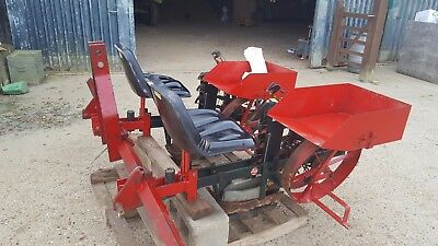 HOLLAND 2 row strawberry planter in good condition stored inside little used
