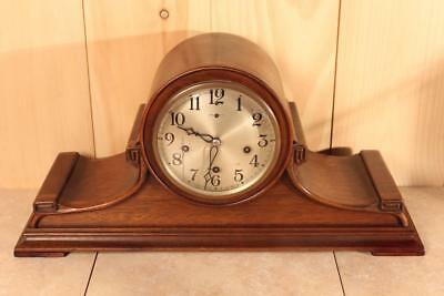 Antique New Haven Westminster Chime Clock ~ ELABORATE STYLING ~