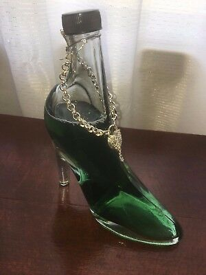 Collectable Liquor Bottle in the shape of a Stiletto .
