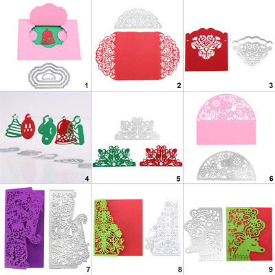 Lace DIY Cutting Dies Metal Stencil Scrapbooking Album Paper Card Embossing Gift