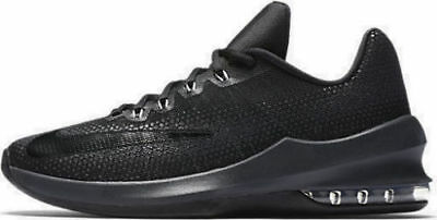 huge selection of 57606 17ead Nike Air Max Infuriate Low Men s Basketball Shoes Size  8 Black 852457 001