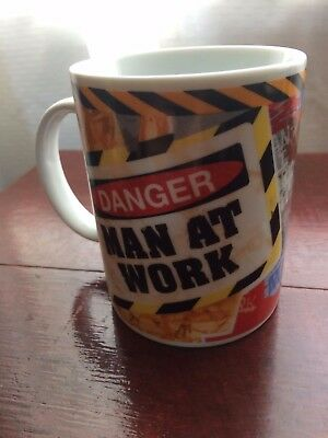 Homer Simpson Men at Work Cup/Mug Collectable