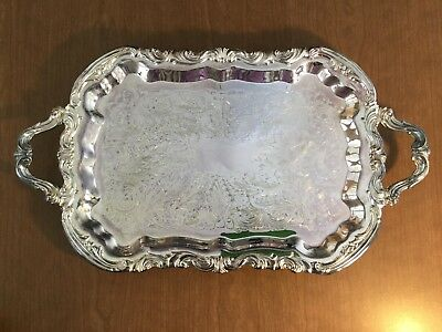 FB Rogers Silverplated Serving Tray