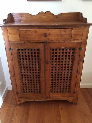 Rustic Timber Storage Cabinet