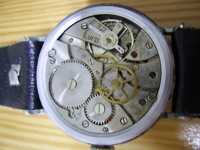 AS 1130 Ehr Chronometre Trench Watch Ehr Vintage kein DH Military Wehrmachtswerk