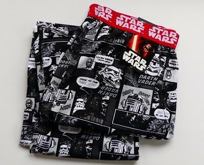 Ex Next Mens Pyjama Bottoms Star Wars Darth Vader Lounge Pj  New S-M-L-Xl & Long