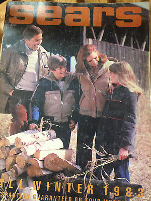 Vintage Sears Fall And Winter 1983 Catalog / Book Sears Roebuck
