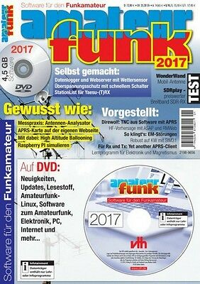 Amateurfunk - Software für den Funkamateur 2017 mit DVD