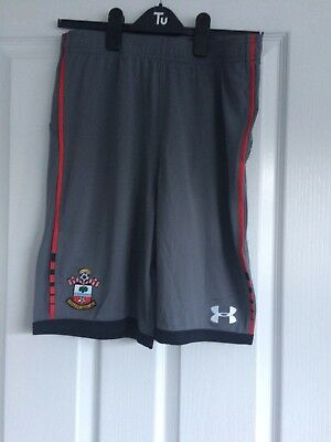 Southampton F.c Boys Shorts Grey  New With Tags.