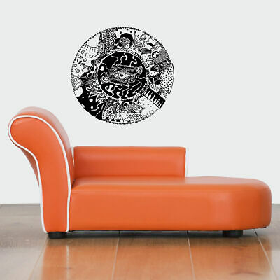 Wall Vinyl Sticker Decal Mural Design Art Mandala  Ornament Yoga bo401