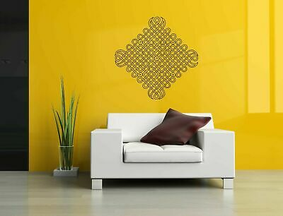 Wall Vinyl Sticker Decal Mural Design Art Mandala Ornament Yoga bo388