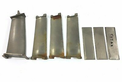 Titanium Aircraft Jet Turbine Engine Blade Fan Parts - Military Fighter Airplane