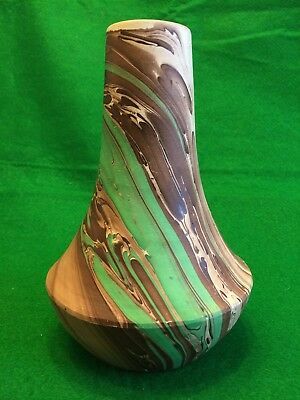 Garden of The Gods Colorado Pottery Vintage Swirled Vase