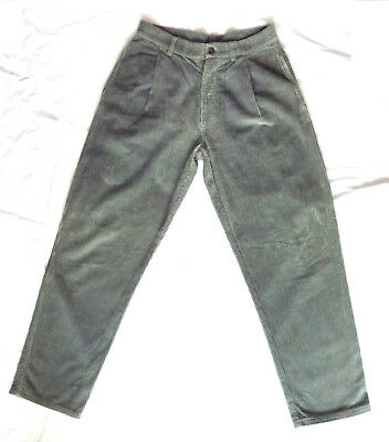 Velvet Trousers Vintage / Pantaloni UNLIMITED LTD -W31-L30 - Made in Italy 80s