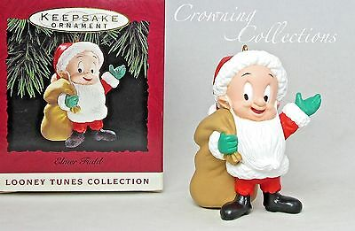 1993 Hallmark Elmer Fudd as Santa Claus Keepsake Ornament Looney Tunes Christmas