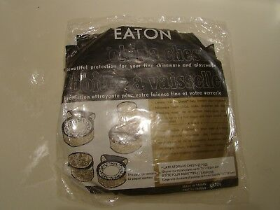 Eaton's Canada China Plate Storage Chest
