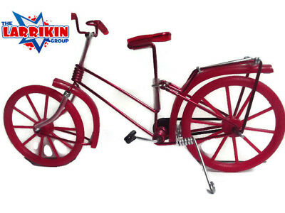 New Mini Toy Working Bikes Ornaments Ladies And Gents Bikes Present Gift