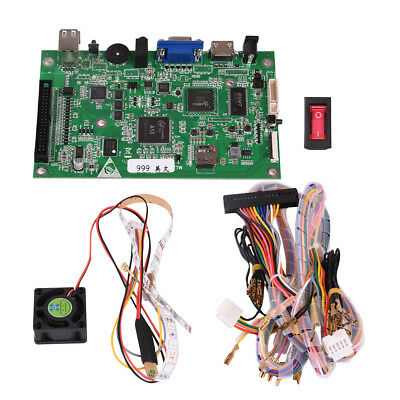 Pandoras-Box-5S-999-Games-Home-Arcade-Board  Player Fish Game Wire Harness Kit on